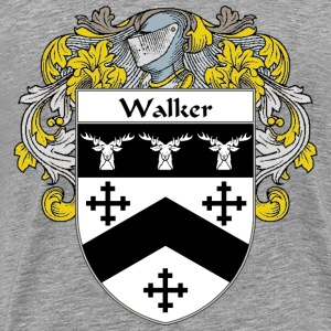 Walker Coat of Arms/Family Crest - Men's Premium T-Shirt