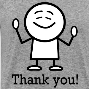 thank you T-Shirts - Men's Premium T-Shirt