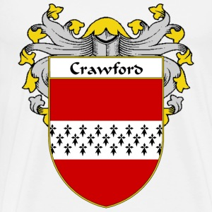 Crawford Coat of Arms/Family Crest - Men's Premium T-Shirt