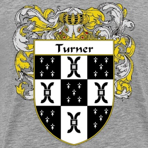 Turner Coat of Arms/Family Crest - Men's Premium T-Shirt