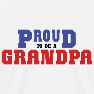 Proud Grandpa T-Shirt - Men's Premium T-Shirt