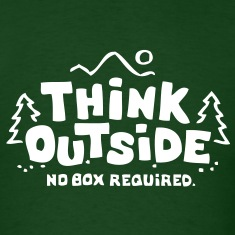 Think Outside - No Box Required T-Shirts