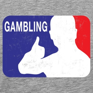 OFFICIAL GAMBLING LOGO T-Shirts - Men's Premium T-Shirt
