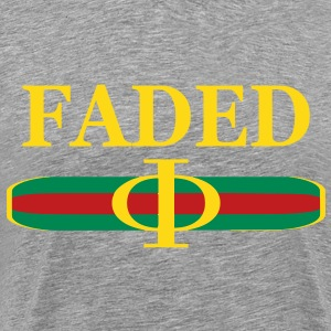 Faded Guccii T-Shirts - Men's Premium T-Shirt