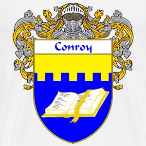 Conroy Coat of Arms/Family Crest - Men's Premium T-Shirt