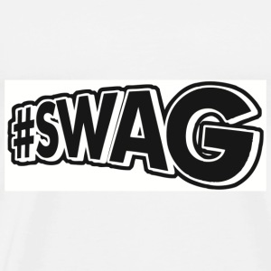 Men's #SWAG 3XL-4XL Shirt  - Men's Premium T-Shirt