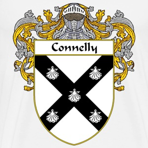 Connelly Coat of Arms/Family Crest - Men's Premium T-Shirt