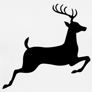 Deer (1c)++ T-Shirts - Men's Premium T-Shirt