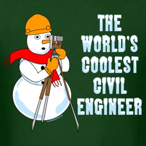 Coolest Civil Engineer T-Shirts - Men's T-Shirt