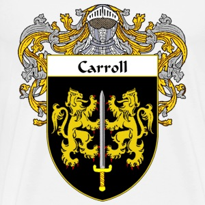 Carroll Coat of Arms/Family Crest - Men's Premium T-Shirt