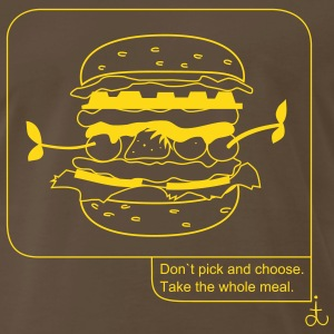 take_the_whole_meal_dit T-Shirts - Men's Premium T-Shirt