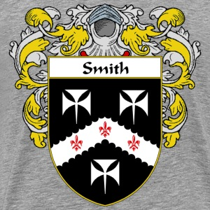 Smith Coat of Arms/Family Crest - Men's Premium T-Shirt