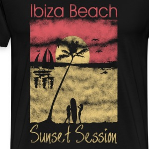 Ibiza Sunset Session T-Shirts - Men's Premium T-Shirt