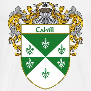 Cahill Coat of Arms/Family Crest - Men's Premium T-Shirt
