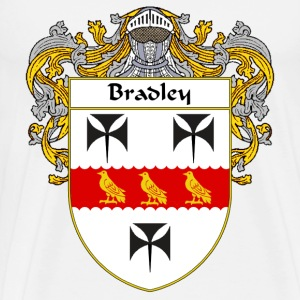Bradley Coat of Arms/Family Crest - Men's Premium T-Shirt