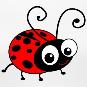 Cute Happy Ladybug Women's T-Shirts - Women's Premium T-Shirt