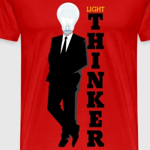 Light Thinker - Men's Premium T-Shirt