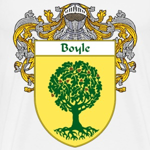 Boyle Coat of Arms/Family Crest - Men's Premium T-Shirt
