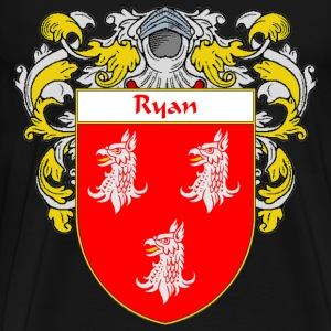 Ryan Coat of Arms/Family Crest - Men's Premium T-Shirt