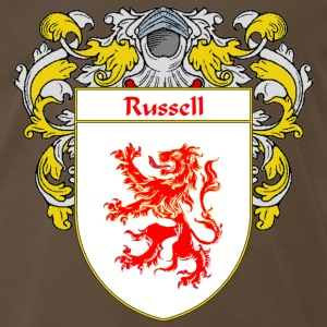 Russell Coat of Arms/Family Crest - Men's Premium T-Shirt