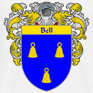 Bell Coat of Arms/Family Crest - Men's Premium T-Shirt