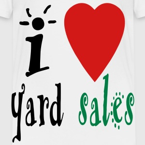 i_heart_yard_sales3 Baby & Toddler Shirts - Toddler Premium T-Shirt