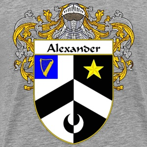 Alexander Coat of Arms/Family Crest - Men's Premium T-Shirt