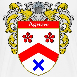 Agnew Coat of Arms/Family Crest - Men's Premium T-Shirt