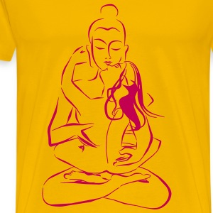 Tantra Buddha Combining sexuality and spirituality - Men's Premium T-Shirt