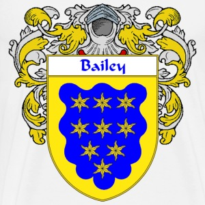 Bailey Coat of Arms/Family Crest - Men's Premium T-Shirt