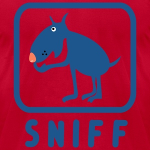 Sniff T-Shirts - Men's T-Shirt by American Apparel