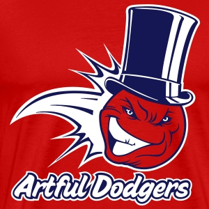 Artful Dodgers - shirt ball T-Shirts - Men's Premium T-Shirt