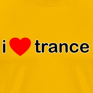 I Love Trance - Men's Premium T-Shirt