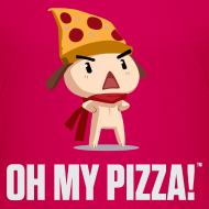 Design ~ Oh My Pizza - Kids ANY COLOR