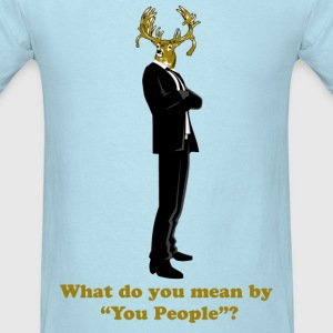 Business Deer - Men's T-Shirt