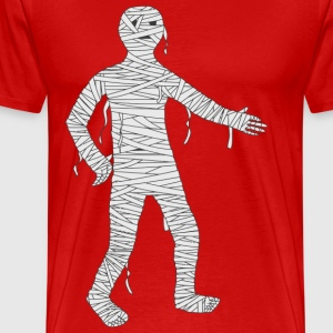 Mummy Cartoon - Men's Premium T-Shirt