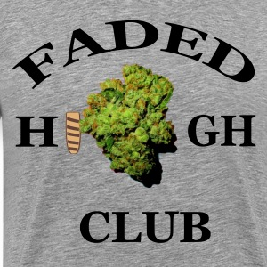 Faded High Club T-Shirts - Men's Premium T-Shirt