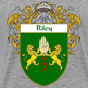 Riley Coat of Arms/Family Crest - Men's Premium T-Shirt
