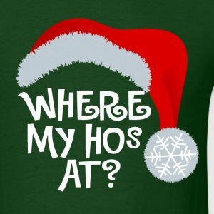 Santa Hos - Men's T-Shirt
