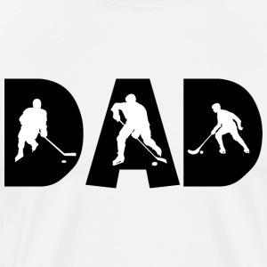 Hockey Dad T-Shirt - Men's Premium T-Shirt