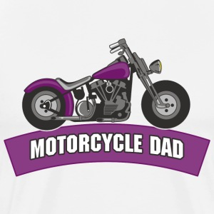 Biker Dad T-Shirt - Men's Premium T-Shirt
