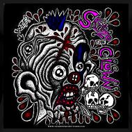 Design ~ Skitzo The Clown (Ladies 3X T-Shirt)