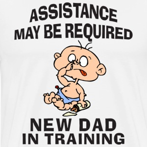 New Dad T-Shirt - Men's Premium T-Shirt