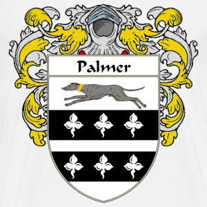 Palmer Coat of Arms/Family Crest - Men's Premium T-Shirt