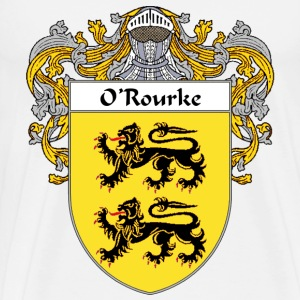 O'Rourke Coat of Arms/Family Crest - Men's Premium T-Shirt