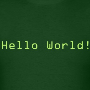 Hello World! T-Shirts - Men's T-Shirt