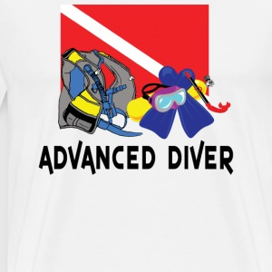 Advanced SCUBA Diver T-Shirt - Men's Premium T-Shirt