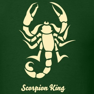 Scorpion Tribal Tattoo 2 T-Shirts - Men's T-Shirt