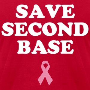 Save Second Base T-Shirts - Men's T-Shirt by American Apparel