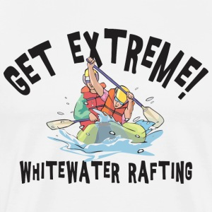 Whitewater Rafting T-Shirt - Men's Premium T-Shirt